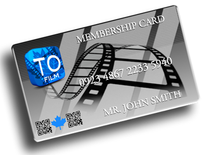 Toronto Film Industry Membership Card
